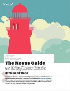 the novus guide to win/loss ratio