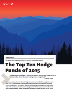 the top ten hedge funds of 2015