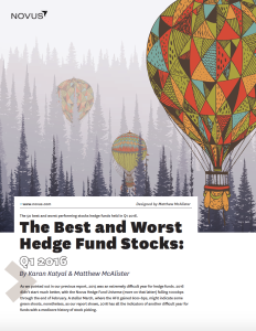 the best and worst hedge fund stocks q1 2016